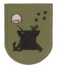 Chilean Marine Corps Magallanes Order and Security Garrison attached to 3rd Naval Zone Headquarter at Punta Arenas, Officer/Enlisted left sleeve patch.