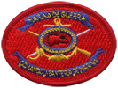 Marine Commando beret badge