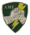 AMF (Allied Command Europe Mobile Force )  Pocket badge