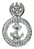 officer beret badge