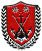 COMMAND SERGEANT MAJOR BADGE OF MARINE BATTALION