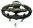 parachutist qualification badge